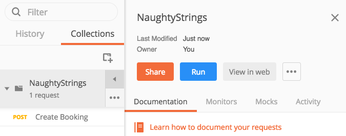 Testing with Naughty Strings in Postman – Amber Tests