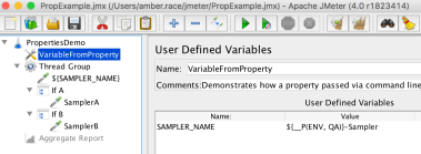 Full Script with User Defined Variable